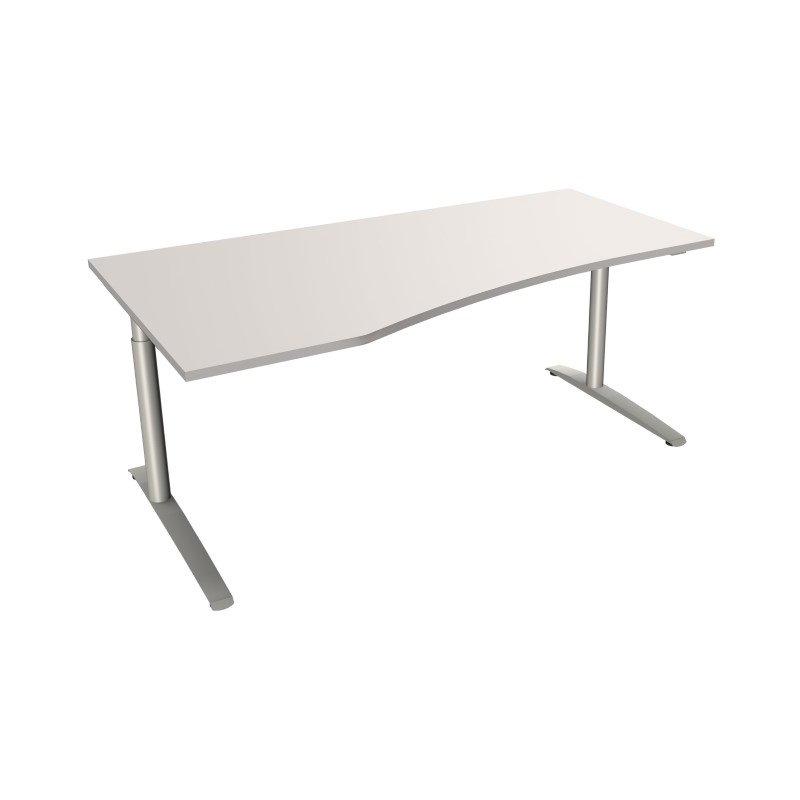 edv schreibtisch mit c fu gestell 180 x 80 100 cm. Black Bedroom Furniture Sets. Home Design Ideas