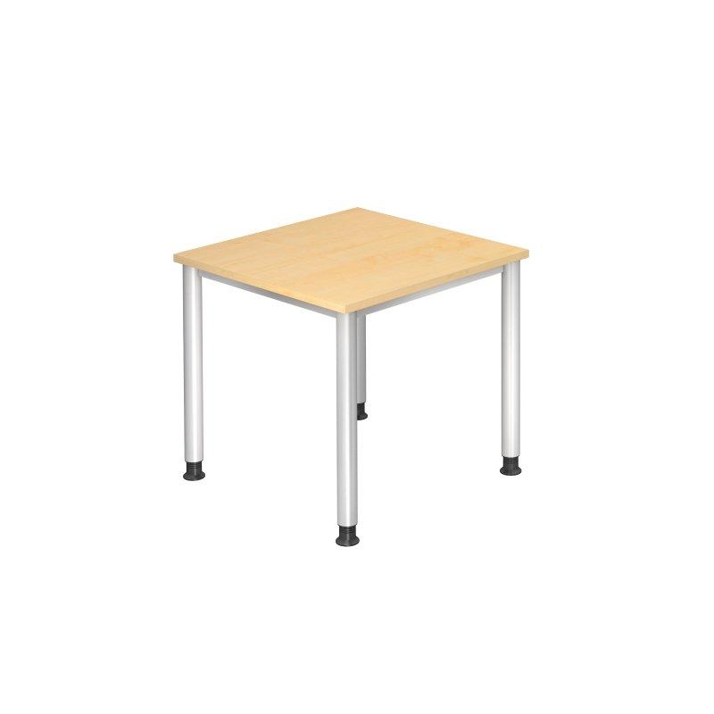 Schreibtisch beistelltisch economy ahorn 80 x 80 cm 1 for Beistelltisch 80 x 60