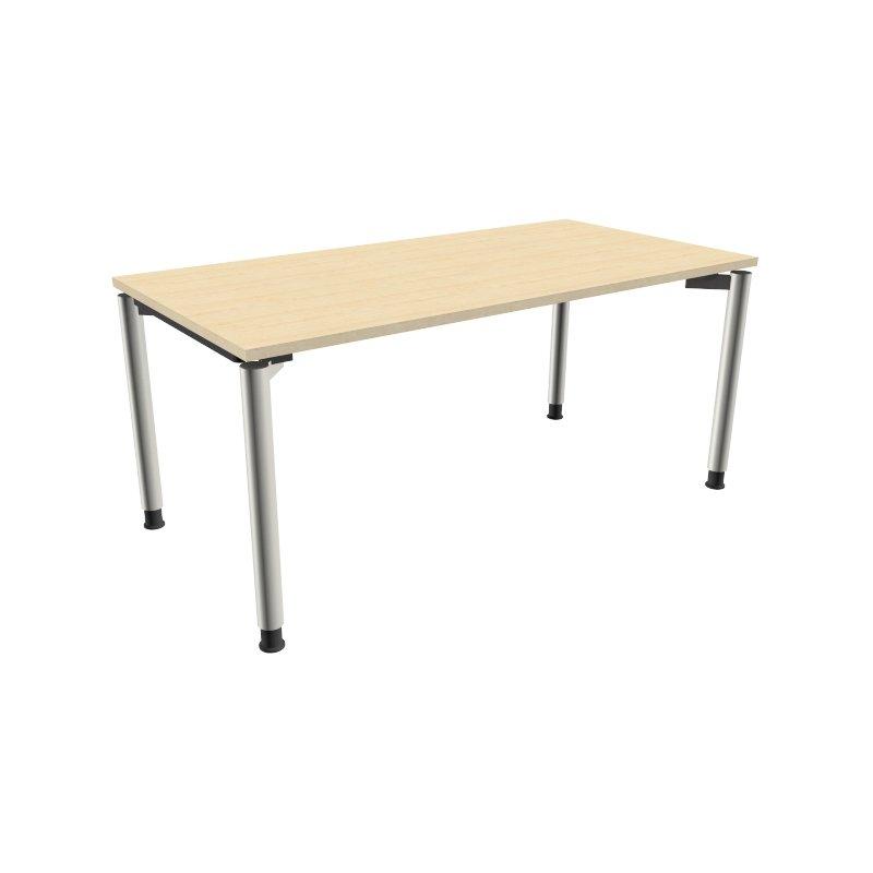 Schreibtisch mit 4 fu gestell 160 x 80 cm k nigsahorn 33 for Schreibtisch 60 x 160