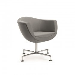 "Lounge Chair ""Sorriso"" Design-Gestell"