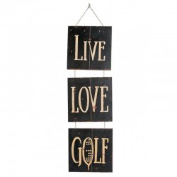 Wall-Art - Live Love Golf