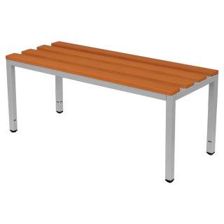 Sitzbank mit Buchenholz-Auflage, ohne Schuhrost, 200 cm breit